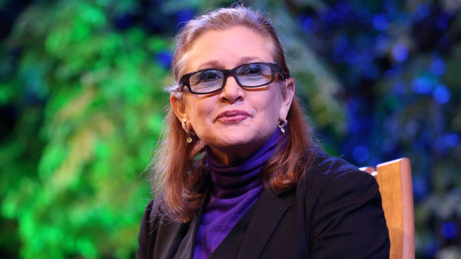 Carrie Fisher opened up about her demons